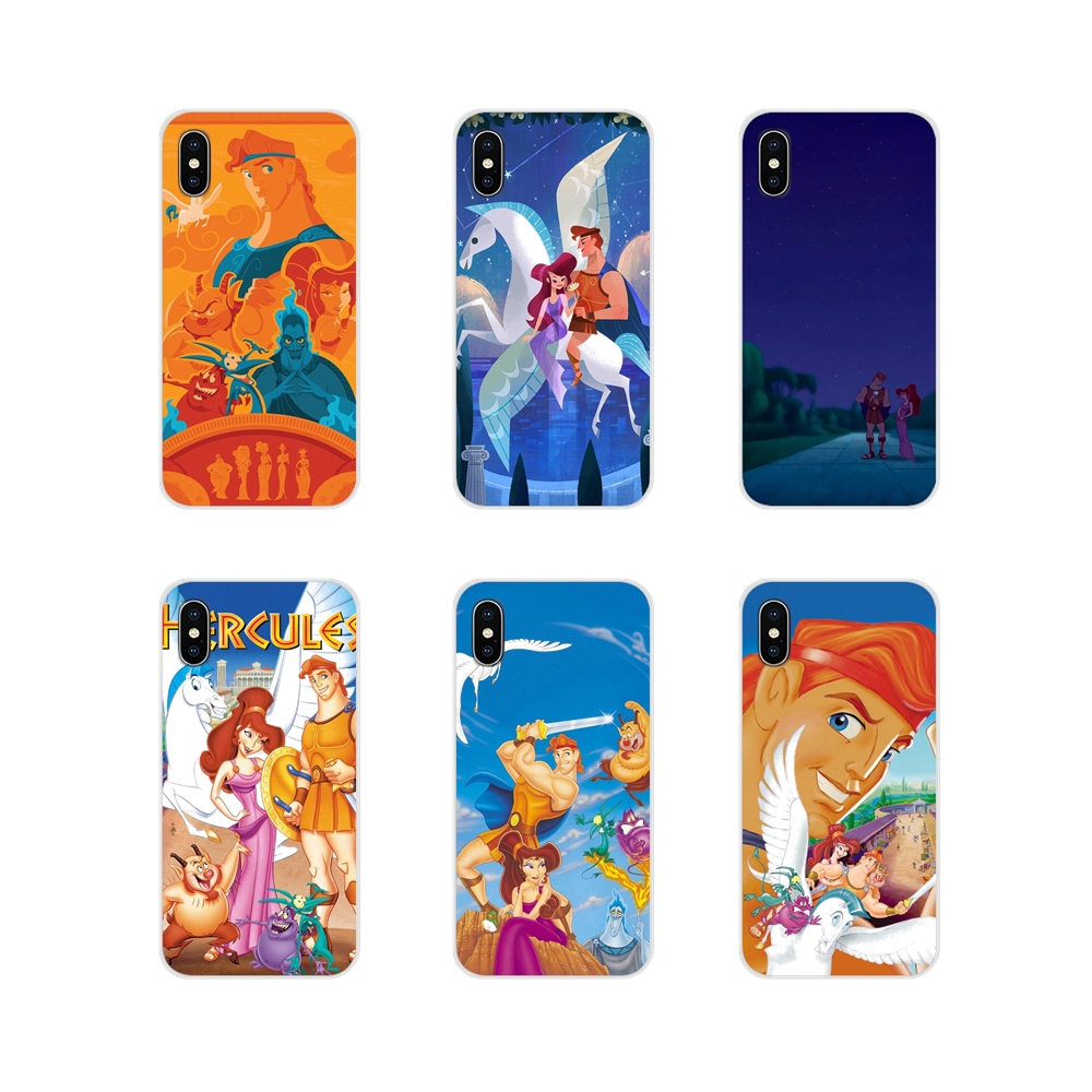 HERCULES For Apple iPhone X XR XS 11Pro MAX 4S 5S 5C SE 6S 7 8 Plus ipod touch 5 6 Accessories Phone Cases Covers