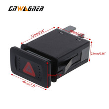 Car Emergency Light Lamp Hazard Flasher Switch For VW Golf MK4 Bora 1998-2006 1J0953235J 1J0953235C 1J0953235E car accessories