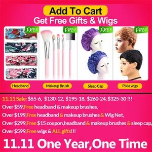 Image 2 - 613 # Большая распродажа 3 4 9 пряди прямые человеческие волосы блонд бразильские волосы для наращивания Remy прямые волосы длинные 30 дюймов Jarin волосы