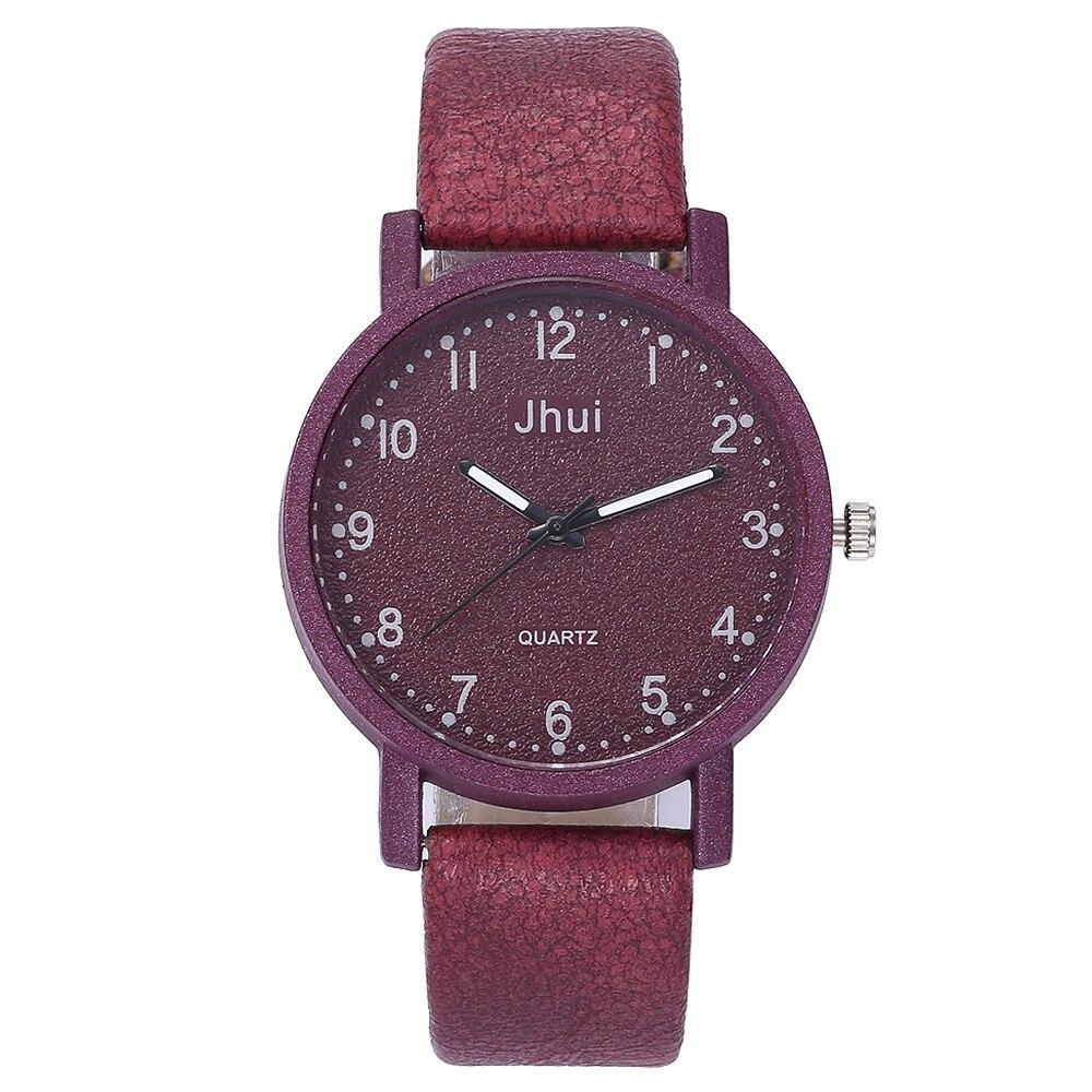 Women's Casual Quartz Leather Band New Strap Watch Analog Wrist Famale Clock Women Watch Steel Luxury Creative New Ladies Watch