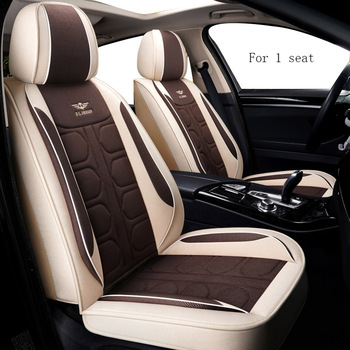 Universal Car seat covers For peugeot 206 308 508 307 407 sw 301 3008 107 407 208 5008 car seat covers image