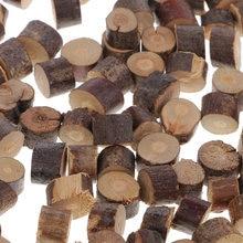 100 mini plastry drewna drzewo dziennika plasterki rustykalny, wiejski ślub Xmas dekoracje