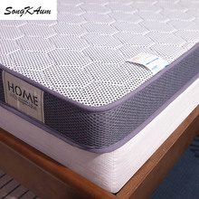 Natural Latex Mattresses Tatami Three-Dimensional-Mattress Knitted-Fabric Student Double