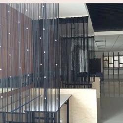 アクリルラインタッセルカーテンフライ昆虫分周器リビングルーム窓キッチンストリングビーズの装飾