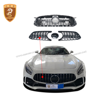 Gt grille Front GTR Grill for Mercedes Benz AMG GT AMG modified GTR Coupe  front racing grille