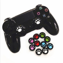 2pcs Replacement Silicone Cat Claw Joystick Caps Controller Grip Thumbstick Buttons Cover Shell For Sony PS4 PS3 Thumb Stick(China)