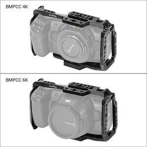 Image 4 - SmallRig BMPCC 4K 6K jaula de cámara para Blackmagic diseño cámara de cine de bolsillo forma jaula de ajuste + Nato Rail Could Shoe Mount  2203