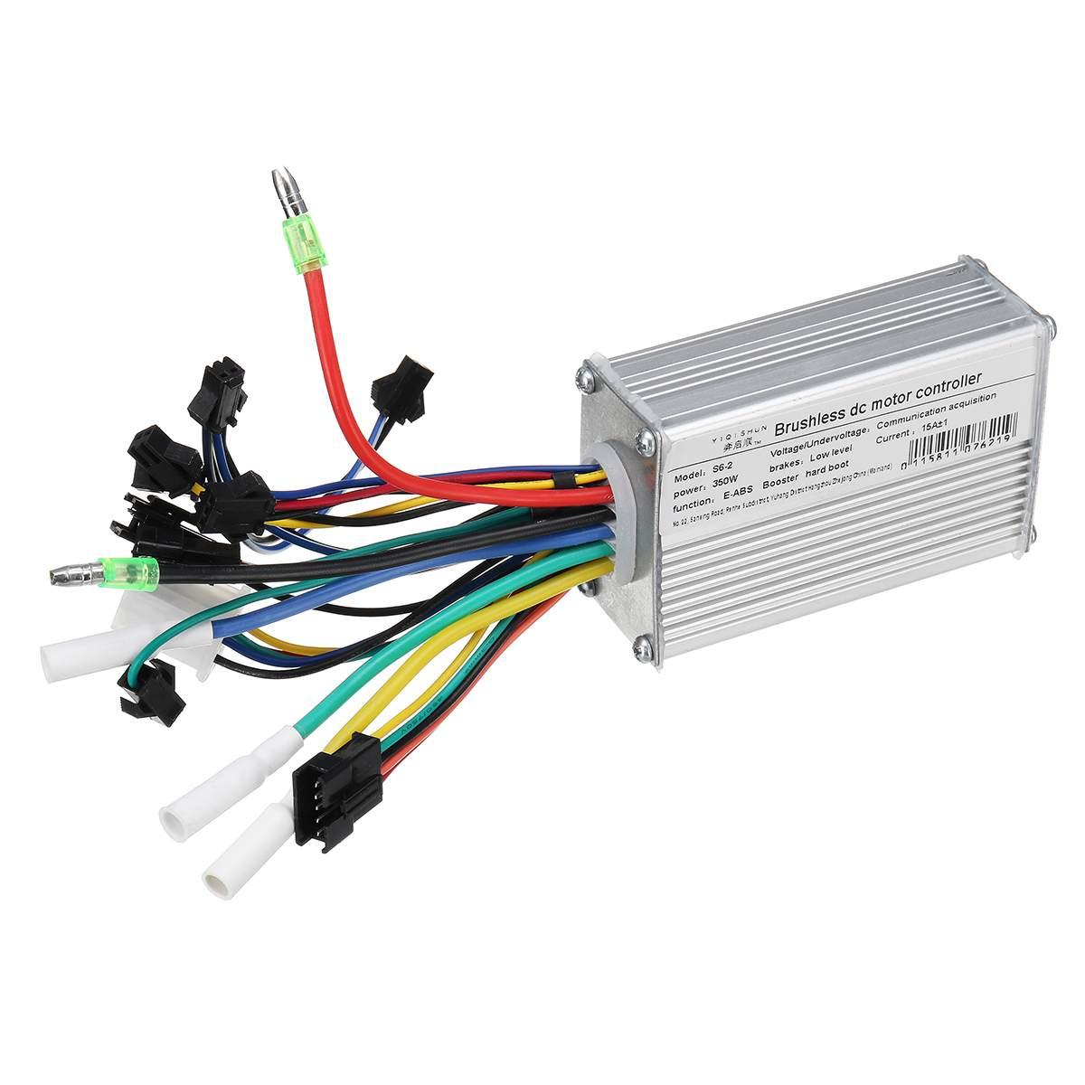 24 V-48 V 350W Bürstenlosen Motor Controller unit mit LCD Display für Roller E-Bike Motor controller