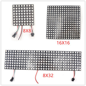 SK6812 16x16 8x32 8x8 WS2812B Panel 256 pixel LED Programmed Panel Screen WS2811 SMD 5050 Led Digital Flexible Addressable DC5V()