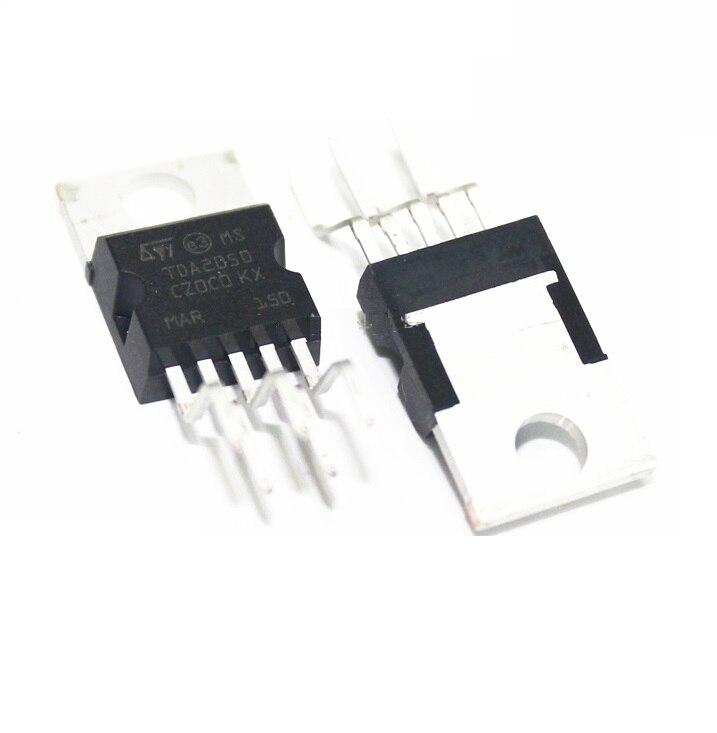 5PCS TDA2050A TDA2050 TO220-5 TO220 New Original