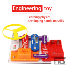 DIY Stitching Assembly Science And Education Puzzle Circuit Toy