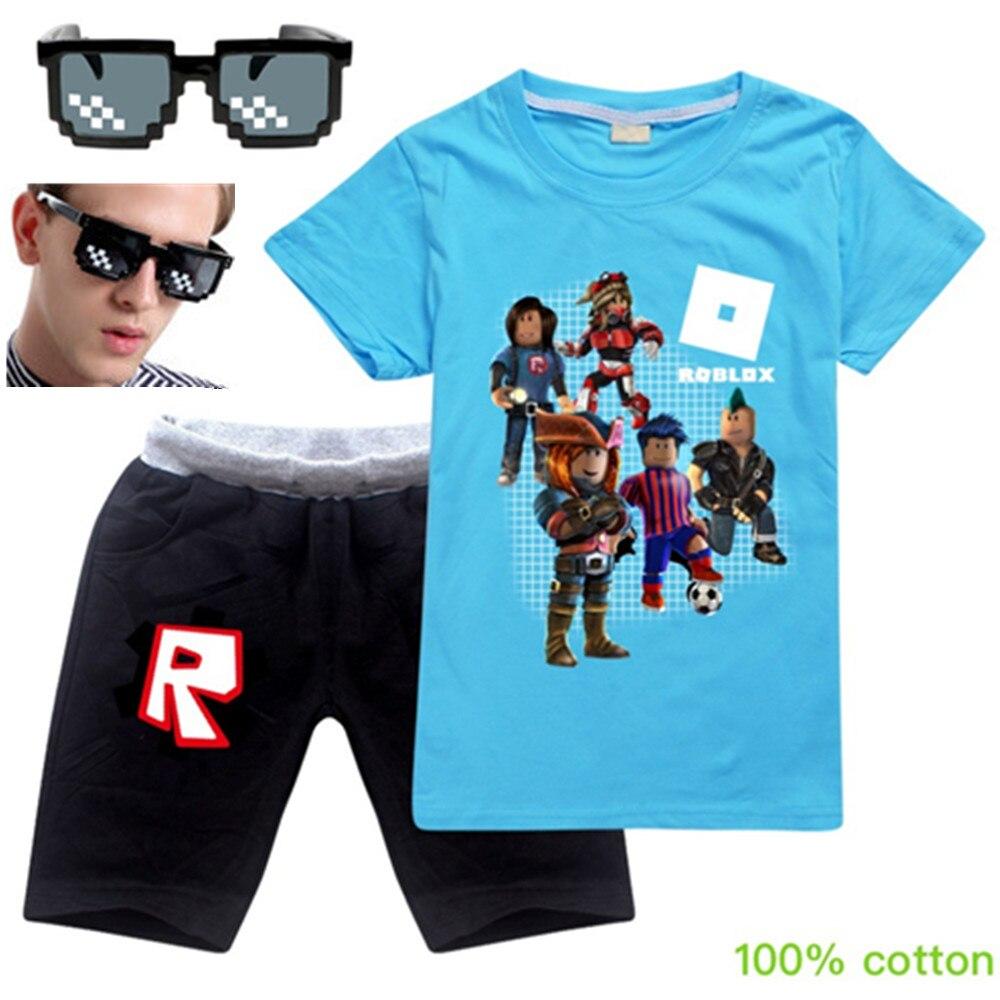 Summer  2-16 Years New Kids T-shirt Girls Jogger Jumper Pullovers 100% Cotton Boy Leisure Fashion Kids Baby Sweatshirts 2pcs