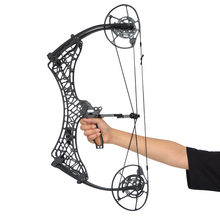 Archery Compound Bow Fully Adjustable 35-85lbs Dual Cam Compound Bow IBO 350fps Outdoor Shooting Accessories