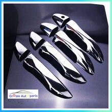 8 قطعة باب الكروم ABS غطاء مقبض الخارجي ملصقا الديكور الخارجي لتويوتا كورولا 2014 2015 2016 2017 Altis الكروم XG 002