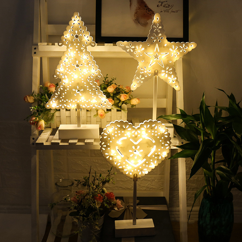 LED Night Light Christmas Decoracion Lights For Home Bedroom Luces Led Decoracion Indoor Christmas Tree Lamps Fairy Lights