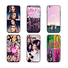 little mix power phone cases TPU+PC Black covers for iPhone X 6 7 8 plus 5 5s 6s se for Apple X best diy case(China)