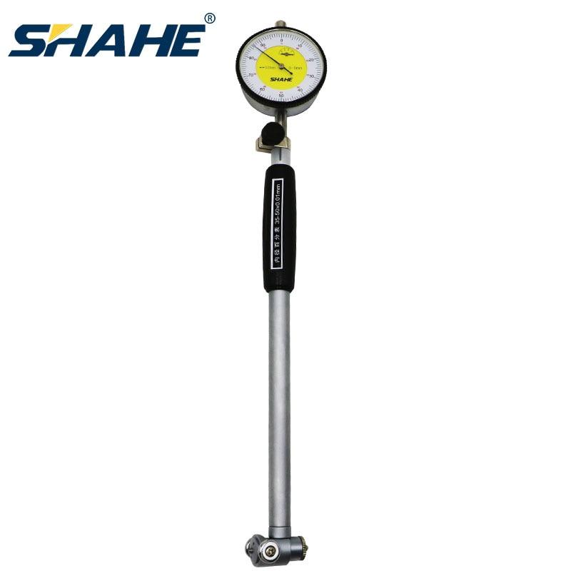 SHAHE 50-160mm 0.01mm Dial Bore Gauge Center Ring Dial Indicator Hole Diameter Micrometer Gauges