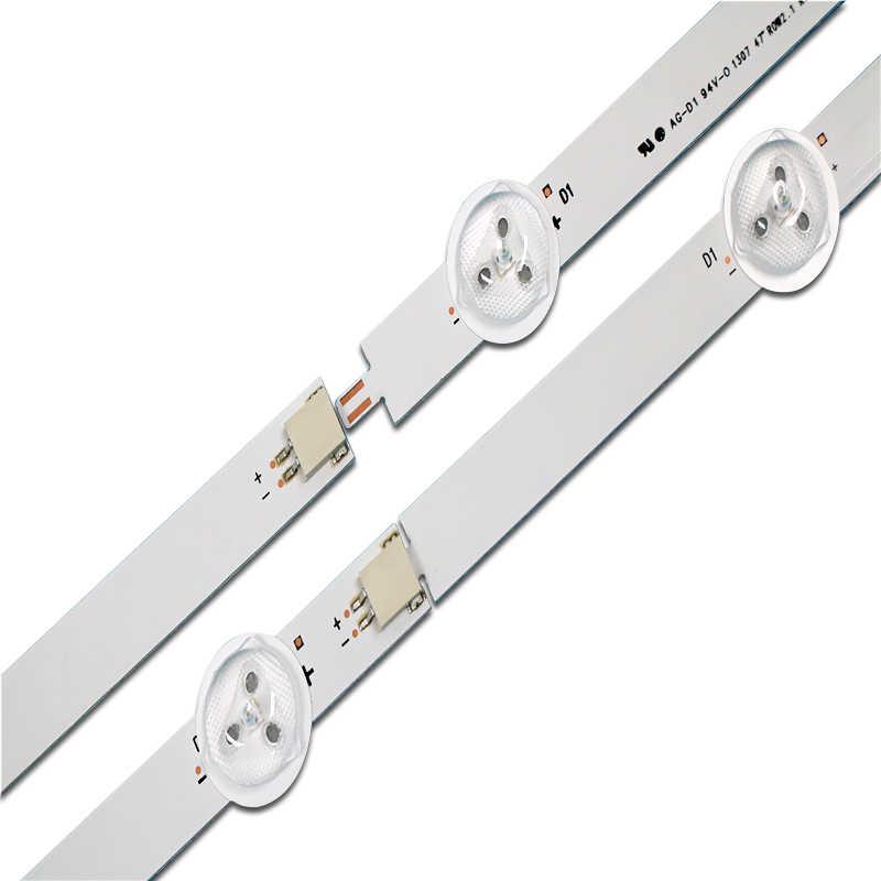 """94cm lámpara LED de luz de fondo de 9leds para LG 47 """"TV 47LN540S 47LN519C 47LN613S 6916L-1174A 6916L-1175A 6916L-1176"""