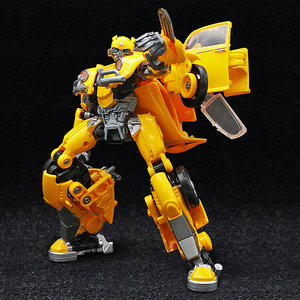 Image 3 - 21cm BMB שינוי דגם BBumbleb קרב להבי מתכת סגסוגת חלק פעולה דמות מעוותת צעצוע רובוט רכב הורנט אוסף צעצוע