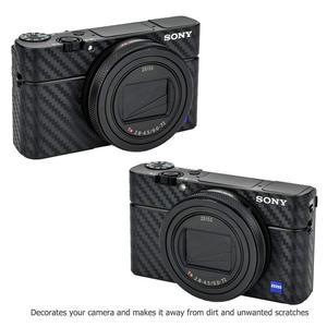 Image 5 - Anti Scratch Camera Body Skin Carbon Fiber Film Sticker Kit For Sony RX100 Mark VII VI RX100M6 RX100M7 For Cameras Decoration