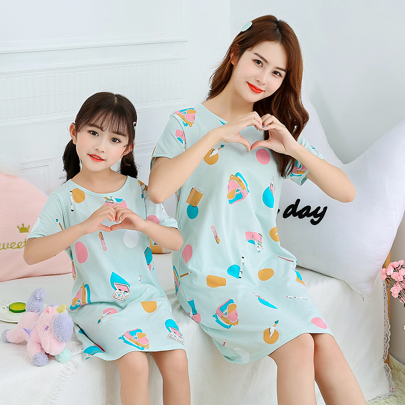 Kids Girls Cartoon Skirt Kids Pyjama Sleepwear Pyjamas Pjs Nightwear Nightdress Girls Clothing 2 16 Years Clothes Shoes Accessories