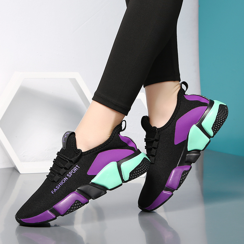 High Quality Ultra-Light Autumn New Style Dance Shoes Women's Shoes Soft Bottom Shoes For Square Dance Breathable Jump Dance Sho