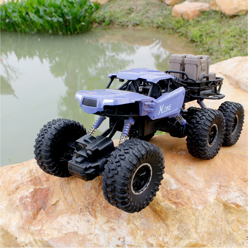 Morio 950A Six-Wheeled Climbing Off-Road Vehicle Boy Remote Control All-Terrain Four-Wheel Drive Toy Car Children Hot Sales Toy