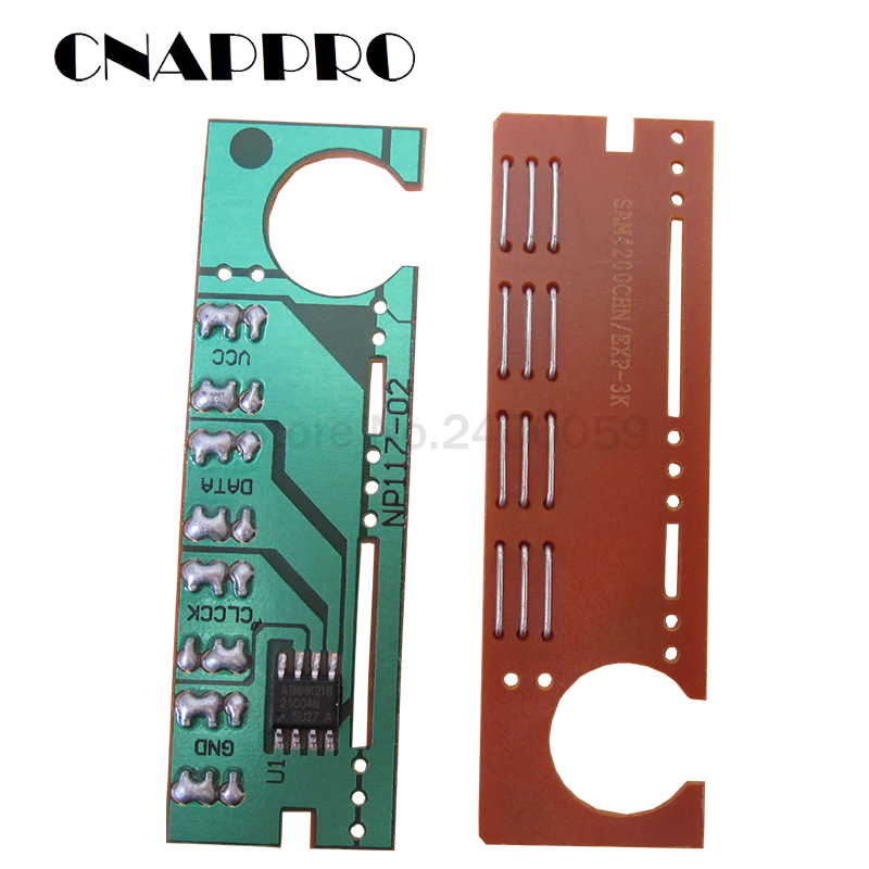 3PCS SCX-D4200A Toner Cartridge Chip For Samsung SCX-4200 SCX4200 SCX4210 SCX-4210 SCXD4200A SCX 4200 4210 D4200A Refill Reset