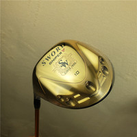 Brand new golf left handed club katana SWORD left handed golf driver + 3/5 fairway wood with hood Free shipping