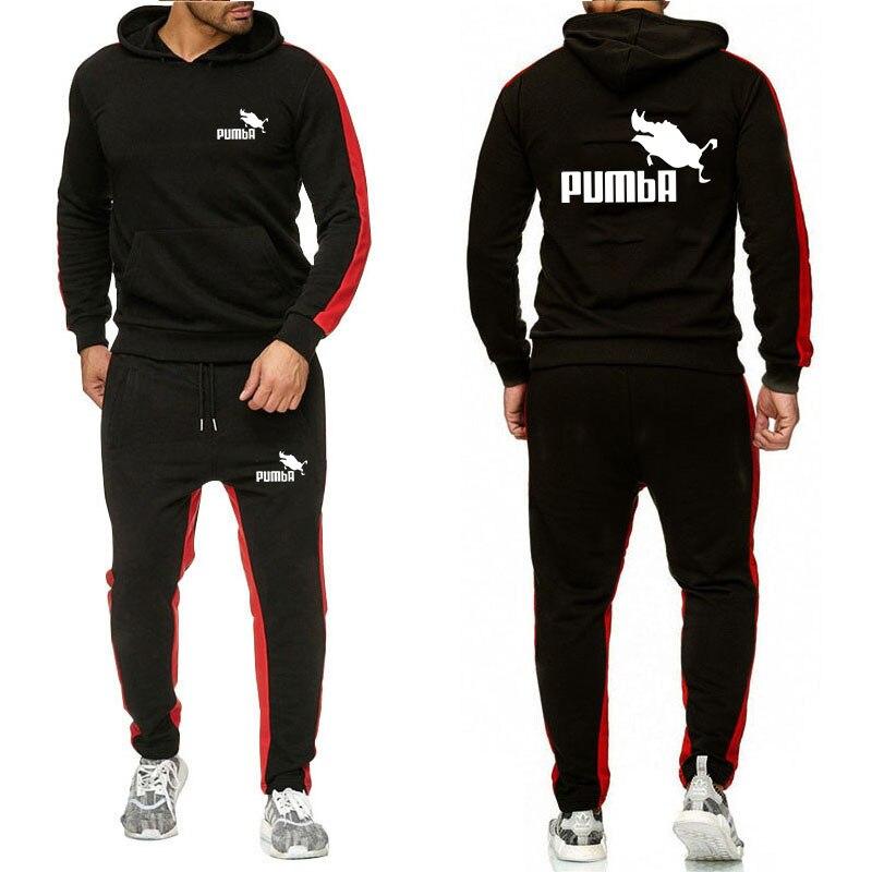 2020 New Fashion Men Hoodies Suits Brand Tracksuit Men/Women Sweatshirts+Sweatpants Autumn Winter Fleece Hooded Pullover Supzxu