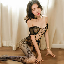 Sexy Women Bodystocking Sex Clothes Erotic Hot Lingerie Teddies Porno Underwear Perspective BodyStocking See Through Babydoll