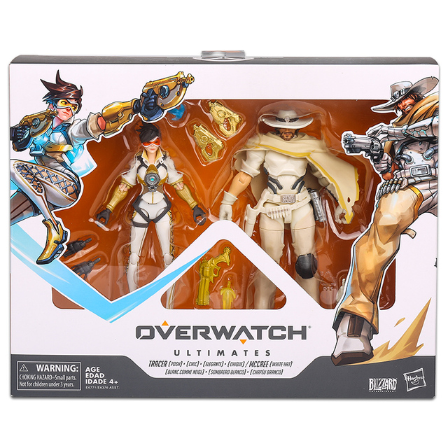15cm Hasbro Overwatch Figure suit joint movable toy model Action PVC Collection Model Toy Anime Figure Toys For Kids 1