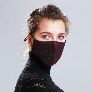 Image 1 - חדש מסכת פה כובעי מסכת אבק הנשמה רחיץ לשימוש חוזר מסכות כותנה יוניסקס פה מופל עבור אלרגיה