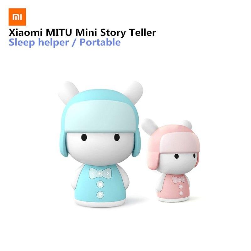 Original Xiaomi MITU Intelligent Story Teller Robot babyToy 8GB Mini Robot Speaker Robot Action Figure Kids Birthday Gift
