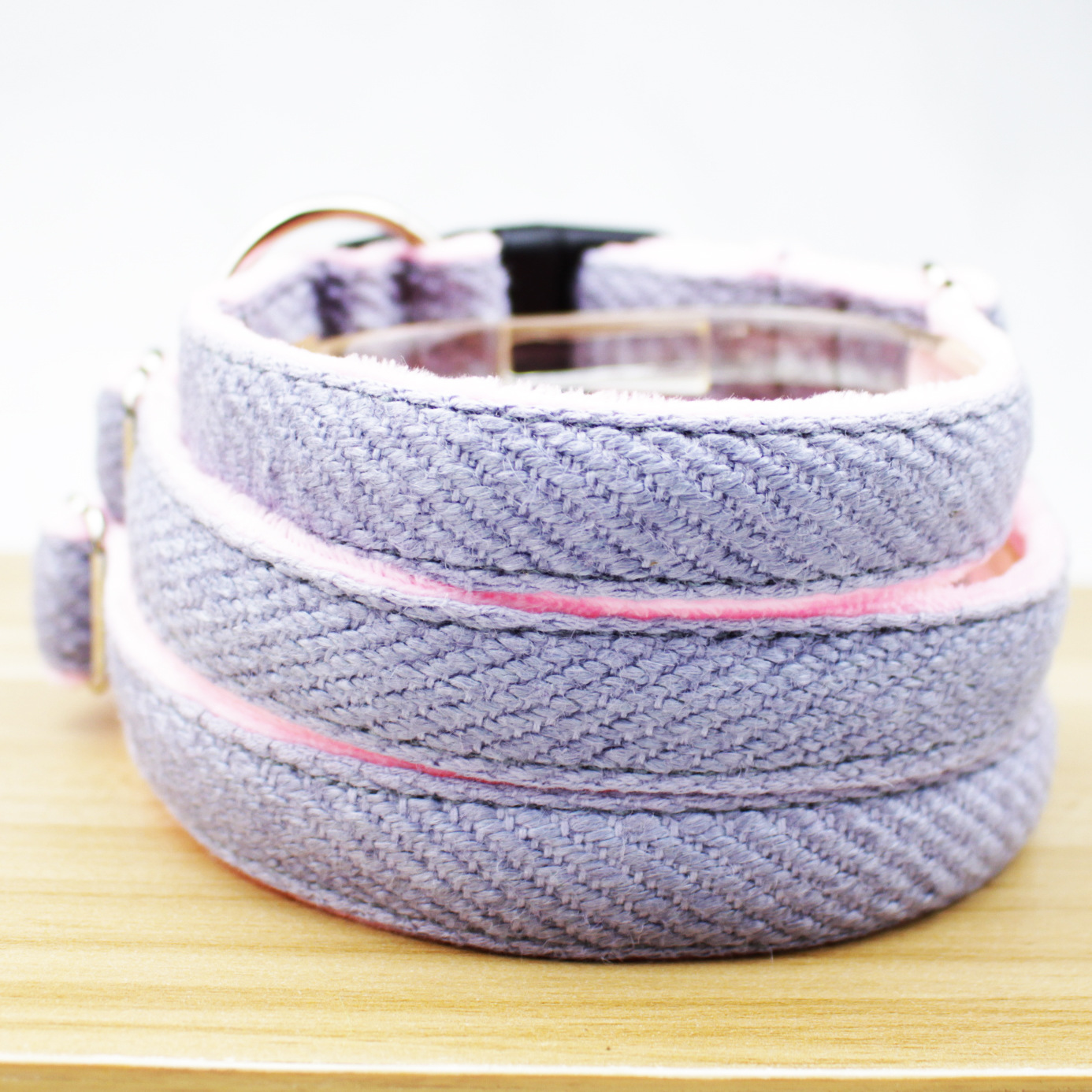 Hot Selling Dog Neck Ring Jute Dog Traction Rope Dogs And Cats 【]