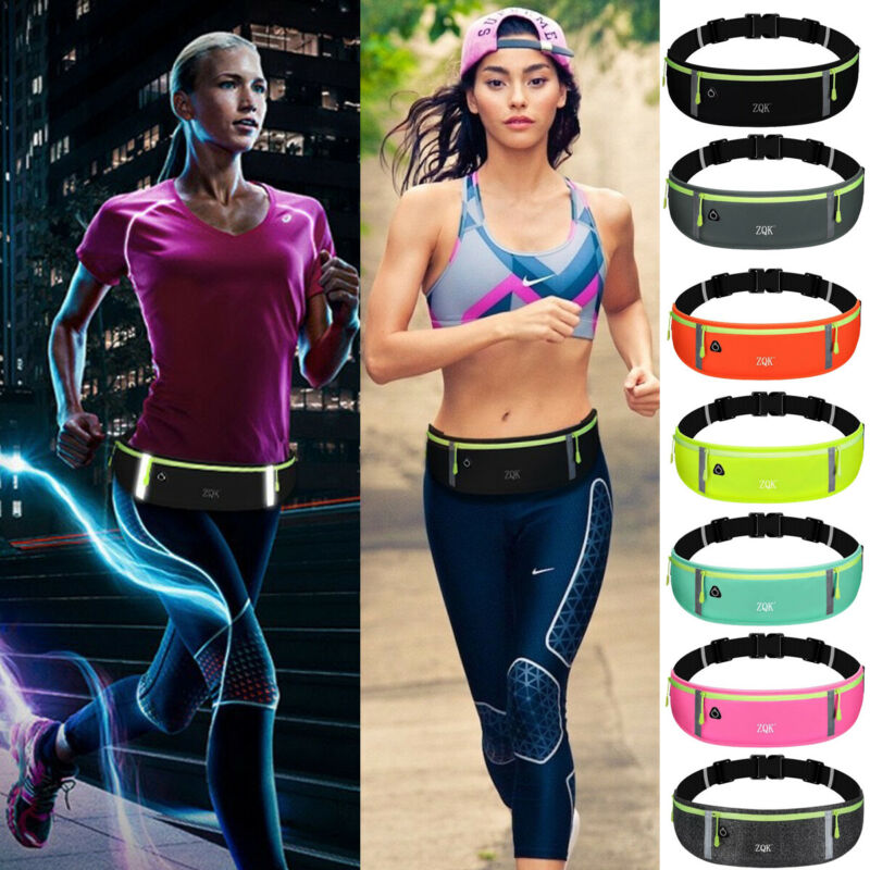 2019 Newest Fashion Sports Bag Running Waist Bag Pocket Jogging Portable Waterproof Cycling Bum Bag