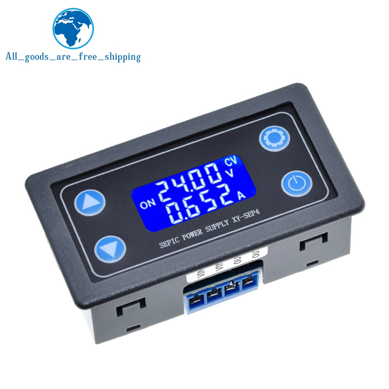 Регулируемый автоматический Напряжение-Up и Напряжение вниз Питание модуль постоянного Напряжение и ток Солнечная зарядка XY-SEP4