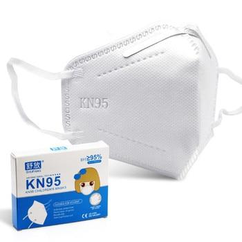 Respiratore KN95 Bambini Viso Maschere CE Viso Maschera PM2.5 Anti-fog maschere di protezione a prova di Polvere Maschere Ragazzi Delle Ragazze 1