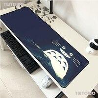 Totoro-alfombrilla de ratón grande para portátil, 900x400x2mm, alfombrilla de ratón Gaming de ordenador de notas, superventas