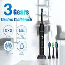 Lachen rm t5b электрическая ультразвуковая зубная щетка с 4