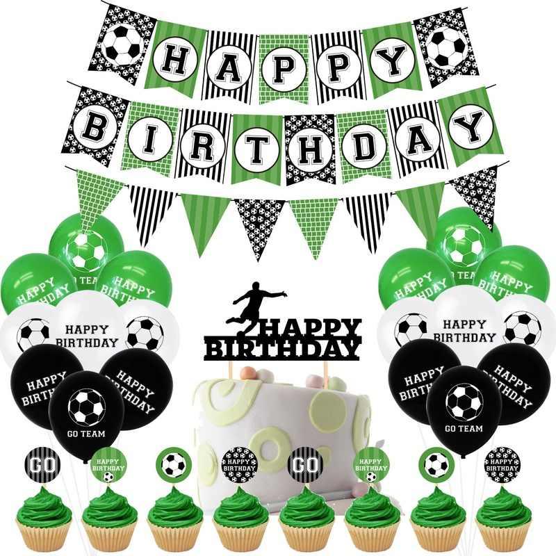 Confettis foot pour votre deco anniversaire   Anniversaire football,  Décorations de table de fête, Deco anniversaire