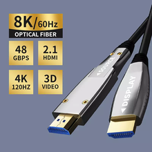 HDMI-Compatible To Optical Converter Fiber HDMI-Compatible 2.0 Cable 10M/20M/30M/50M 60Hz Extender 4K For Hd Tv Lcd Laptop Ps4
