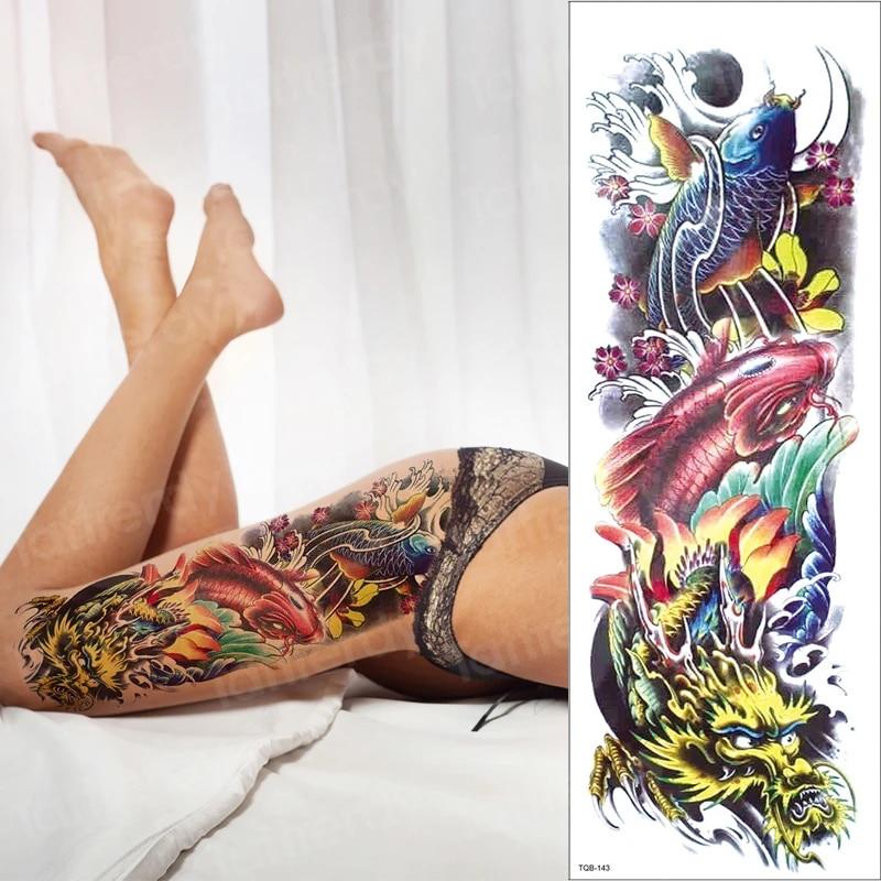Frauen bein tattoos banknatisi: Tattoo