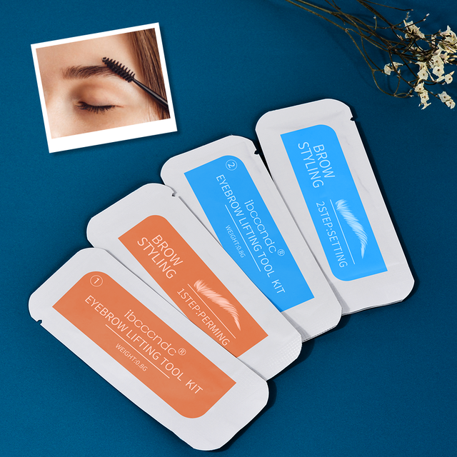 Brand Brow Lamination Kit Safe Perming Brow Lift Set Eyebrow Lifting Eyebrow Enhancer Brows Styling Beauty Salon Home Use Makeup 1