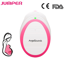 лучшая цена JUMPER Fetal Doppler Ultrasound Baby Heartbeat Detector Home Pregnant Doppler Baby Heart Rate Monitor Pocket Doppler