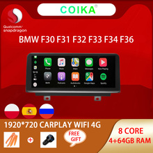 8 Core Snapdragon Android 10.0 Systeem Auto Radio Voor Bmw 3 Serie F30 F31 F32 F33 F34 F36 Gps Navi stereo Wifi 4G Lte 4 + 64G Ram