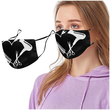 Adult's Mouth Mask Activated Carbon Outdoor Mouth Mask Hanging Ears Washable Reusable Adjustable Ear Band Face Mask Маска#NL image