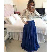 Abendkleider vestido de festa longo robe de soiree вечернее платье es торжественное платье женское элегантное кружевное вечернее платье