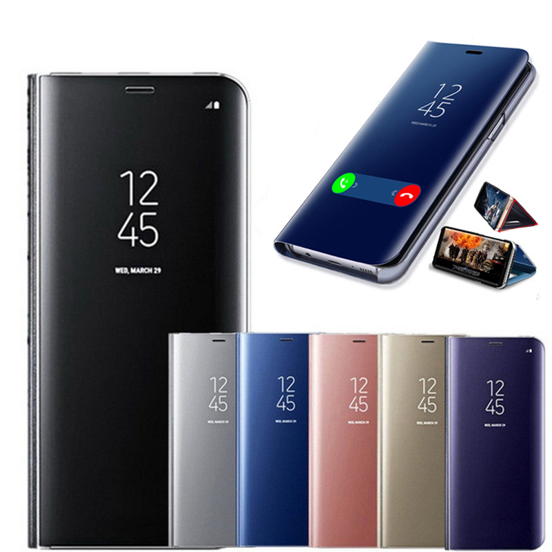 HOOMIL Pelle Premium Cover per Huawei P30 Lite Flip Case Custodia per Huawei P30 Lite Nero