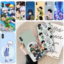 LJHYDFCNB Hunter X Hunter Anime Phone Case Cover For iphone 6 6s plus 7 8 plus X XS XR XS MAX 11 11 pro 11 Pro Max Cover lovebay geometri customer high quality phone case for iphone 6 6s plus 7 8 plus x xs xr xs max 11 11 pro 11 pro max cover